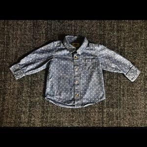 Old navy chambray button down size 18-24
